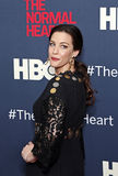"Liv Tyler. Actress Liv Tyler arrives on the red carpet for the New York premiere of ""The Normal Heart, "" at the Ziegfeld Theatre in New York City on May 12 Royalty Free Stock Photo"
