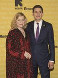 Liv Ullmann and David Miliband. Honoree Liv Ullmann, renowned Norwegian actress and director, and David Miliband, a former British Labour Party politician and Stock Image