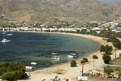 Livadi Beach, Serifos Island Royalty Free Stock Images