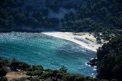 Livadi beach on Thassos island Stock Images