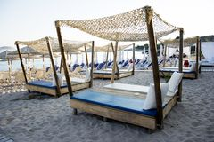Livadi beach on Thassos island Stock Photography