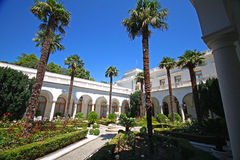 Livadia宫殿意大利庭院  免版税库存图片
