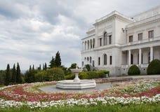 livadia宫殿雅尔塔 免版税库存照片