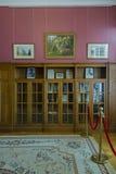 Livadia宫殿,克里米亚房间  库存照片
