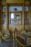 Livadia宫殿,克里米亚房间  免版税库存照片