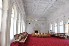 Livadia宫殿 会议室在Livadiya,克里米亚 图库摄影
