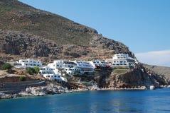 Livadia, isola di Tilos Fotografie Stock