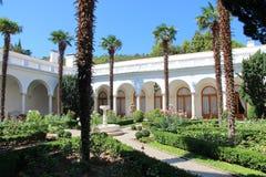 Livadia pałac w Livadiya wejściu, Crimea Zdjęcie Royalty Free