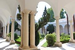 Livadia pałac wnętrze w Livadiya, Crimea Obraz Stock