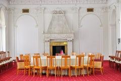 Livadia pałac Pokój konferencyjny w Livadiya, Crimea Obrazy Royalty Free