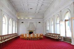 Livadia pałac Pokój konferencyjny w Livadiya, Crimea Zdjęcie Stock
