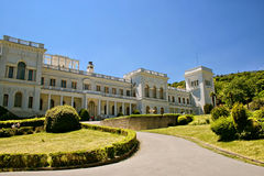 Livadia palace Stock Photo