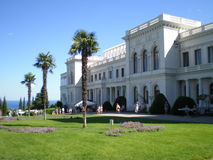 Livadia Palace in Crimea. Livadia Palace. Estate was built in 1910-1911 for the royal Romanov family royalty free stock image
