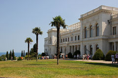 Livadia Palace in Crimea Stock Photo