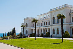 Livadia Palace, Crimea, Ukraine Royalty Free Stock Photo