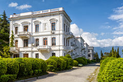 Livadia Palace in Crimea Royalty Free Stock Photos