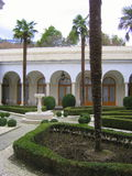 Livadia Palace. Crimean Conference Stock Images