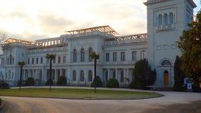 Livadia Palace Livadiya, Crimea stock video