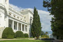 Livadia Palace and park, Crimea Stock Photo