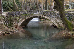 Livadia Stream, Greece Stock Image