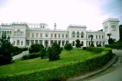 Livadiapaleis in de Krim, de Oekraïne Stock Fotografie