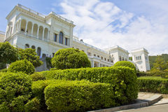 Livadkiyskiy palace, Crimea Stock Photo