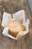 Livarot Cheese traditional Cheese from Normandy France Royalty Free Stock Images