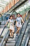 Livat商城的,北京,中国顾客 库存图片