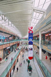 Livat Shopping Mall interior, Beijing, China. BEIJING-AUG. 2, 2015. Livat shopping mall interior. The impressive feat of engineering and design by Ikea measures Stock Photo