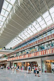 Livat Shopping Mall interior, Beijing, China Stock Photo