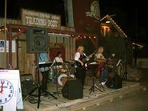 Live Band at the California Heritage Square, Los Angeles County Fair, Pomona Fairplex, California Stock Photos