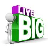 Live big Stock Image