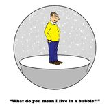 Live in Bubble Stock Photos