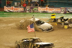 Live Car Crash Stock Photo