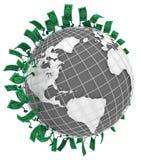 Live Cash, funzionamento del globo illustrazione vettoriale