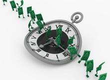 Live Cash, funzionamento di tempo royalty illustrazione gratis
