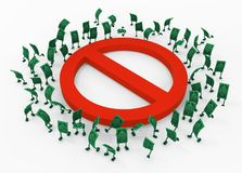 Live Cash, proibição ilustração do vetor