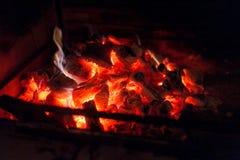 Live coal Stock Photo