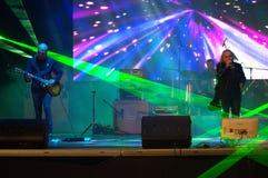 Live concert Bulgaria Stock Photo