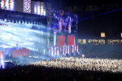 Live concert Stock Photography