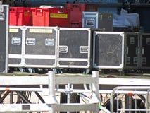 Live concert equipment Stock Photos