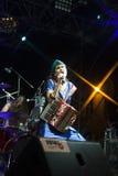 Live concert of fanfarria del capitan Stock Photography
