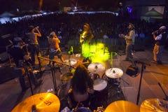 Live concert of fanfarria del capitan Royalty Free Stock Photo