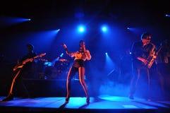 Live concert, Parov Stelar Band Stock Photos