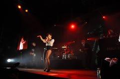 Live concert, Parov Stelar Band Stock Photo