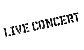 Live Concert rubber stamp Stock Photography