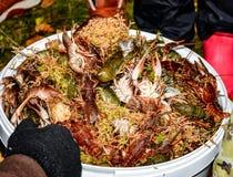 Live Crabs Photographie stock libre de droits
