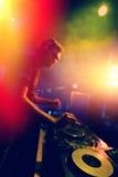 Live DJ Stock Image