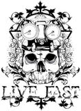 Live fast Royalty Free Stock Images