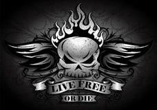 Live Free ou meurent Photo libre de droits